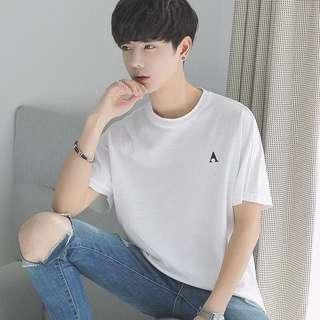 韓款男裝T恤$159