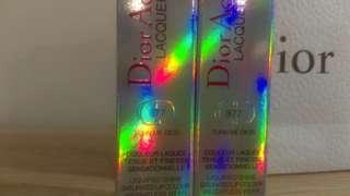 2 brand new Dior addict lacquer stick