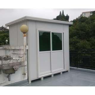 戶外防水隔熱鋼材組合屋