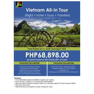 Vietnam All-In Tour