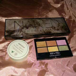 BYS + Innisfree + Urban Decay Makeup Bundle