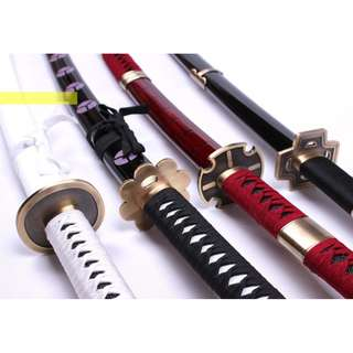 Zoro's sword replicas