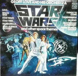 Star Wars LP 1978 edition 星球大戰黑膠1978