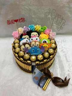TSUM TSUM money cake