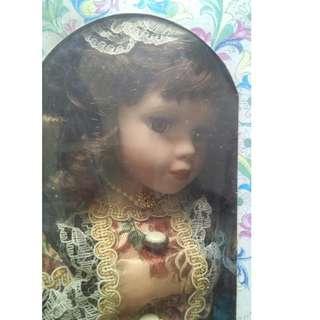 BNIB Porcelain Doll