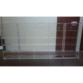 Takara Tomy Hot Wheel - ACRYLIC DISPLAY CASE WITH COVER (For 25 PCs) - OFFER
