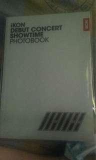 Ikon debut concert showtime photobook