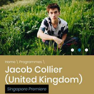 Jacob Collier LIVE IN SINGAPORE