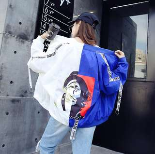 Korean Jacket Baseball Suit