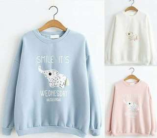 Sweater sweet elephant