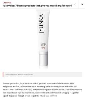 Jyunka Ultra Defence UVPRO SPF50 (10ml)