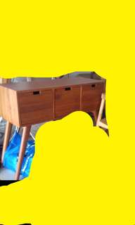 Brand new solid teakwood side cabinet