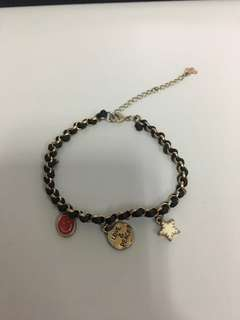 Looking for Charm bracelet with black wax cord