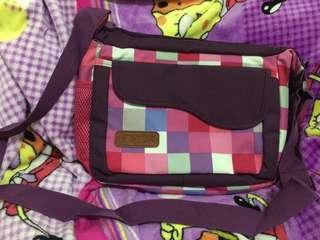 Ruffles sling bag