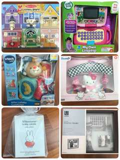 BN and preloved kids and baby items