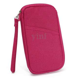 Travel Organiser Pouch / Passport Holder / Multipurpose Wallet