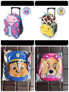 BN Kids Boys and Girls Bags Luggage Trolley