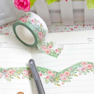 (PO) Floral Gardens Washi Tape