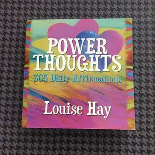 Louise Hay - Positive Thoughts Mini Book