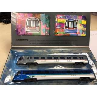 Mtr 紀念車票連列車模型