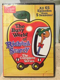 The Busy World of Richard Scarry The Complete Series DVD