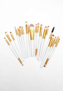 🔥Ready stock 🔥20pcs ROYAL GOLD MAKE UP BRUSH FOR WOMEN