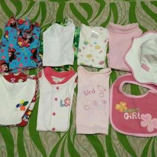 8 Pcs. Baby Clothes Bundle (0-6 Mos)