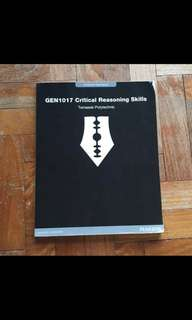 Critical reasoning book for CDS