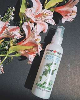 Human Nature Deodorizing Foot Spray