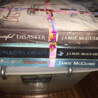 Beautiful disaster trilogy