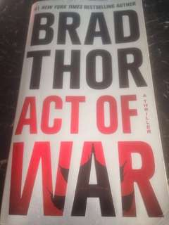 Act Of War by Brad Thor