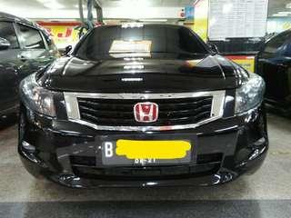 Honda Accord 2.4 VTIL Hitam metalik Matic tahun 2008 nego sampai jadi