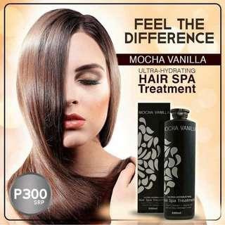Mocha Vanilla Hair Spa treatment