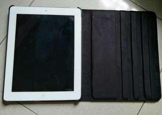 Ipad 4 / 16 gb.  Wifi only mulus + bonus case baru mewah