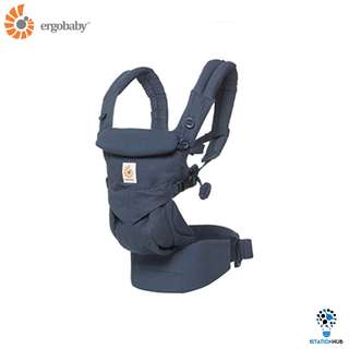[Pre-Order] 100% Original Ergobaby OMNI 360 Four Position Carrier | Midnight Blue [BG-BCS360BLU]