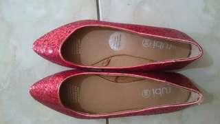 Rubi red flatshoes