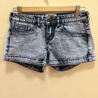 Petrol Acid Wash Shorts