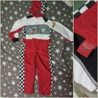 Car-racer kids costume