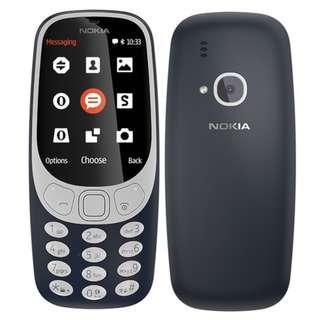 Nokia 3310 3G NEW (WITH WARRANTY)