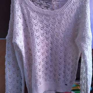 Sweater rajut from singapura