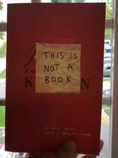 WRECK JOURNAL; This Is Not A Book by Keri Smith