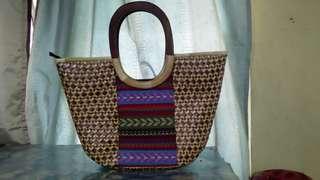 Banig bag by Kultura