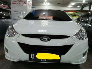 Hyundai Tucson 2.5 Tahun 2012 Putih metalik AT