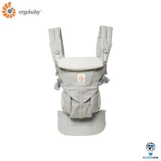 [Pre-Order] 100% Original Ergobaby OMNI 360 Four Position Carrier | Pearl Grey [BG-BCS360GRY]