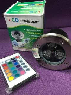 12V 110V 220V LED buried light