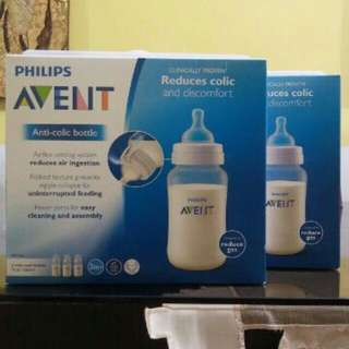 Avent Classic 11oz Clear Bottle