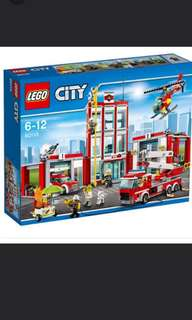 LEGO 60010 - Fire Station (Brand new and Sealed)