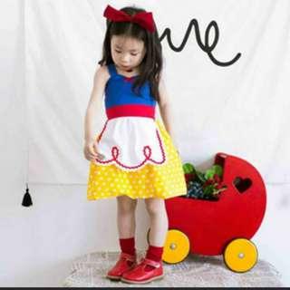 Snow white dress size 80