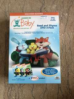 Hooked on Baby Read and Rhyme DVD