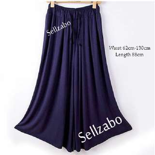 🐧#131 Plus Dark Blue Long Pants Leggings Tights Casual Ladies Girls Women Female Lady Free Size